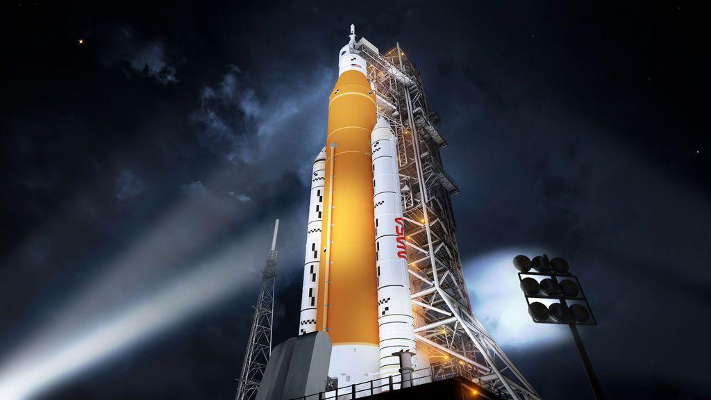 Cohete SLS de la NASA