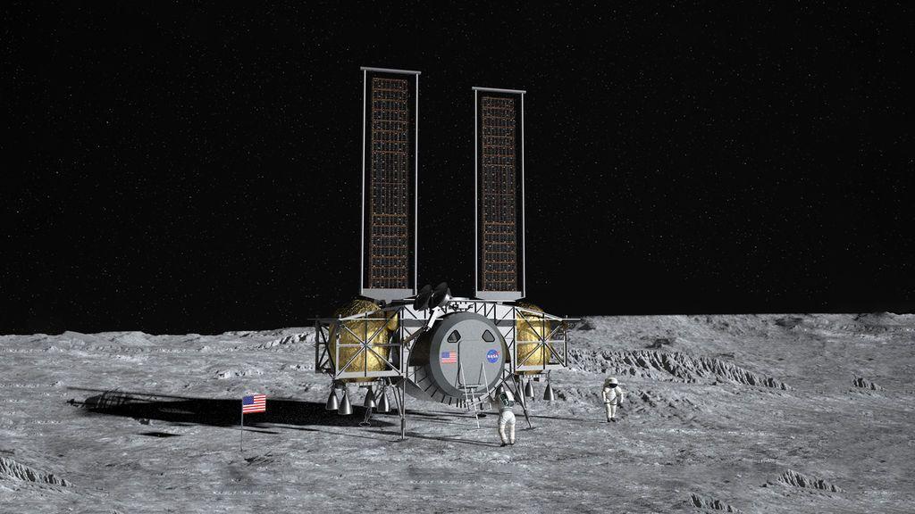 Módulo de descenso lunar de Dynetics
