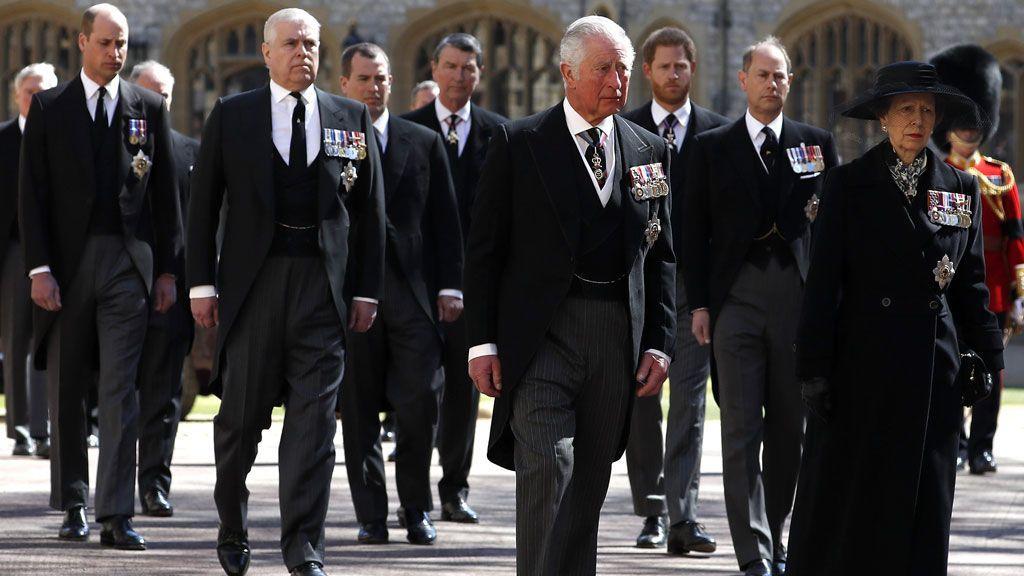 Siete mensajes clave en las indumentarias y los actos del funeral del Duque de Edimburgo