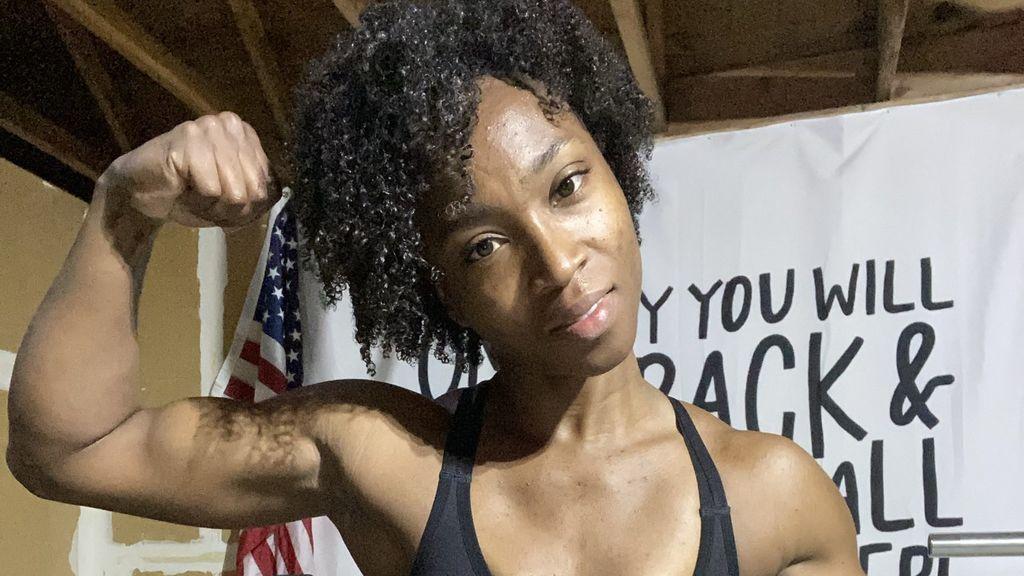 """Tianna Bartoletta, la atleta estadounidense que impacta con sus abdominales: """"Es como crear una escultura a partir de un bloque de mármol"""""""