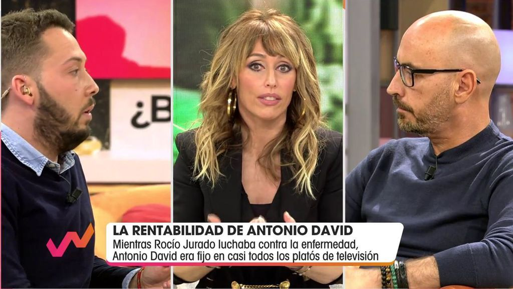 Avilés, Emma García y Diego Arrabal.
