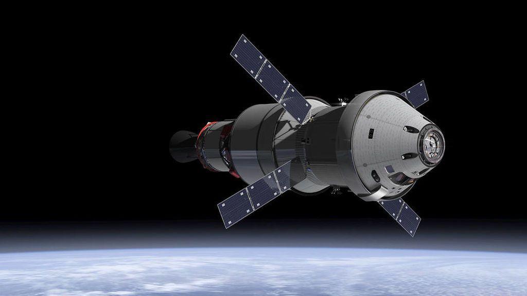 Concepto de la nave Orion de la NASA