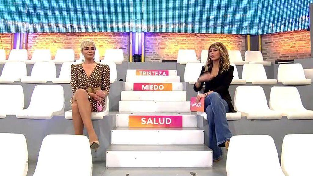 Ana María Aldón y Emma García