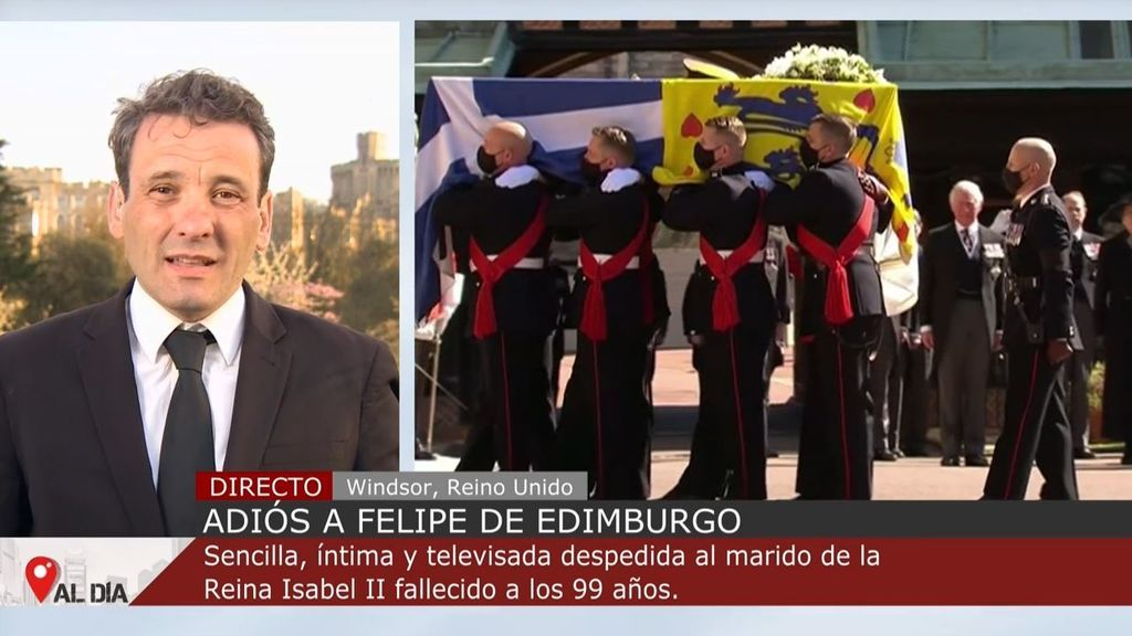 Reino Unido despide al duque de Edimburgo con una ceremonia sencilla e íntima