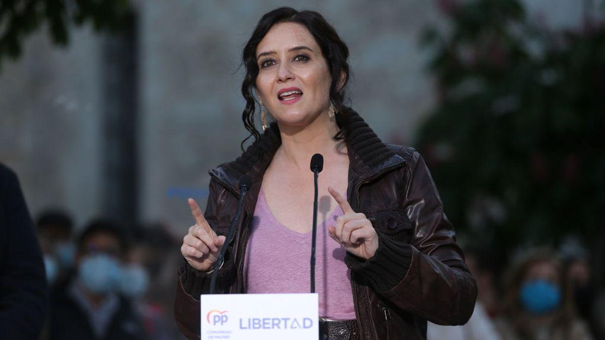 """Elecciones Madrid 2021: Ayuso ve a Sánchez """"desesperado"""": """"No se puede engañar a todo el mundo todo el tiempo"""""""