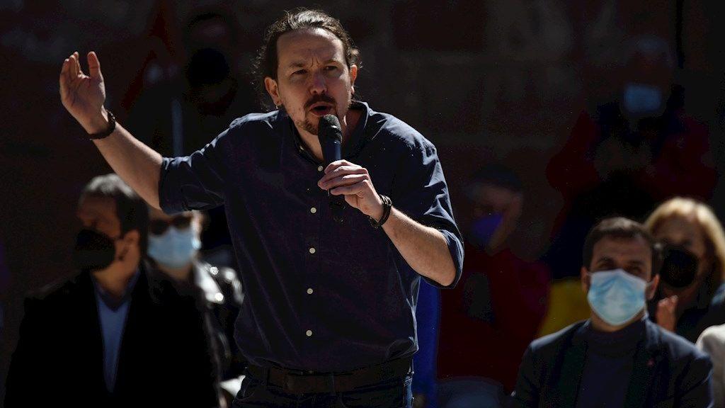 """Elecciones Madrid 2021: Iglesias llama a la """"gente que no insulta"""" a dar la vuelta a """"la corrupción"""""""