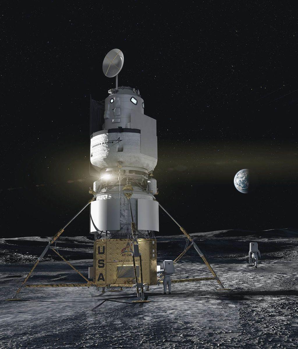 Módulo de descenso lunar de Blue Origin