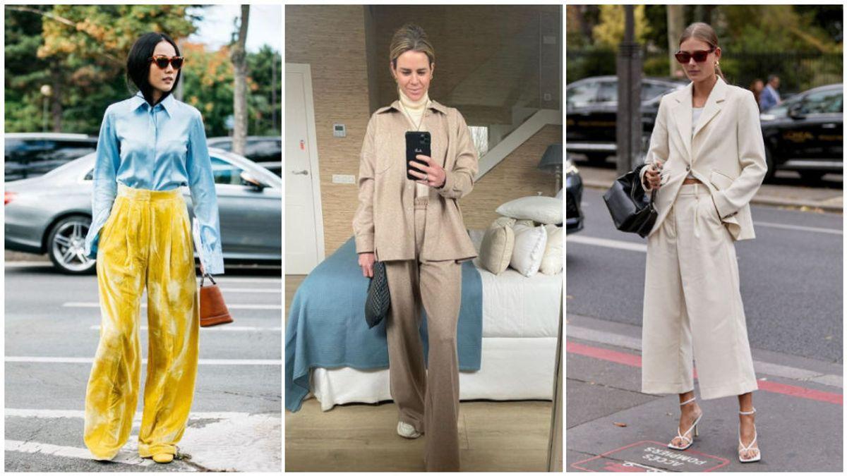 Los pantalones palazzo de chándal, una de las prendas revolución de esta temporada: estos son los tipos para lucirlos como Amelia Bono.