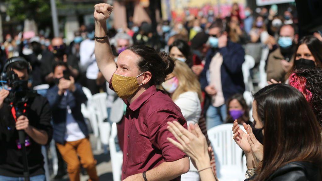 """Elecciones Madrid 2021: Iglesias acusa a Ayuso de usar a los madrileños como """"gasolina política para incendiar España y derrocar al Gobierno"""""""