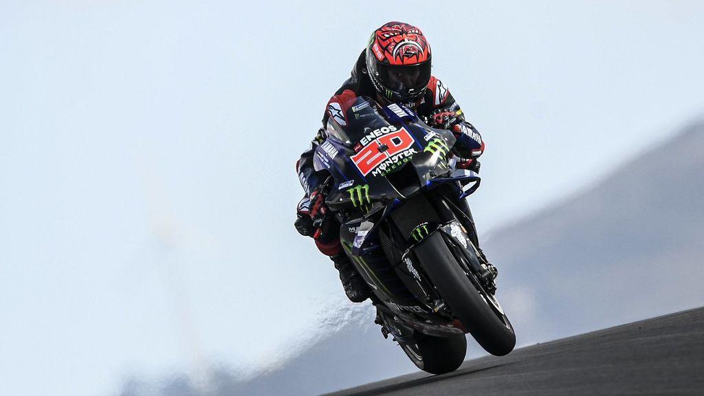 Quartararo repite podio en Portimao, Mir tercero: Marc Márquez consigue el séptimo puesto en su reaparición