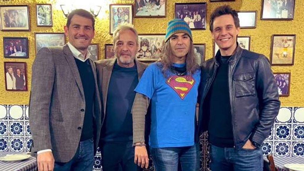 El sorprendente encuentro entre Casillas, David Summers, Chema Alonso yChristian Gálvez llena la Red de memes