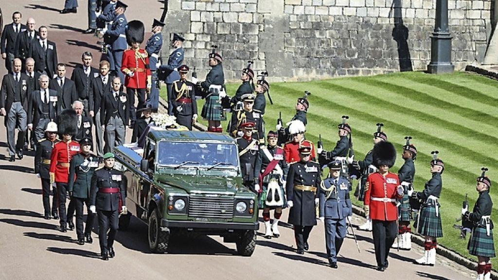 El conductor del coche fúnebre del duque de Edimburgo ensayó el recorrido durante una semana