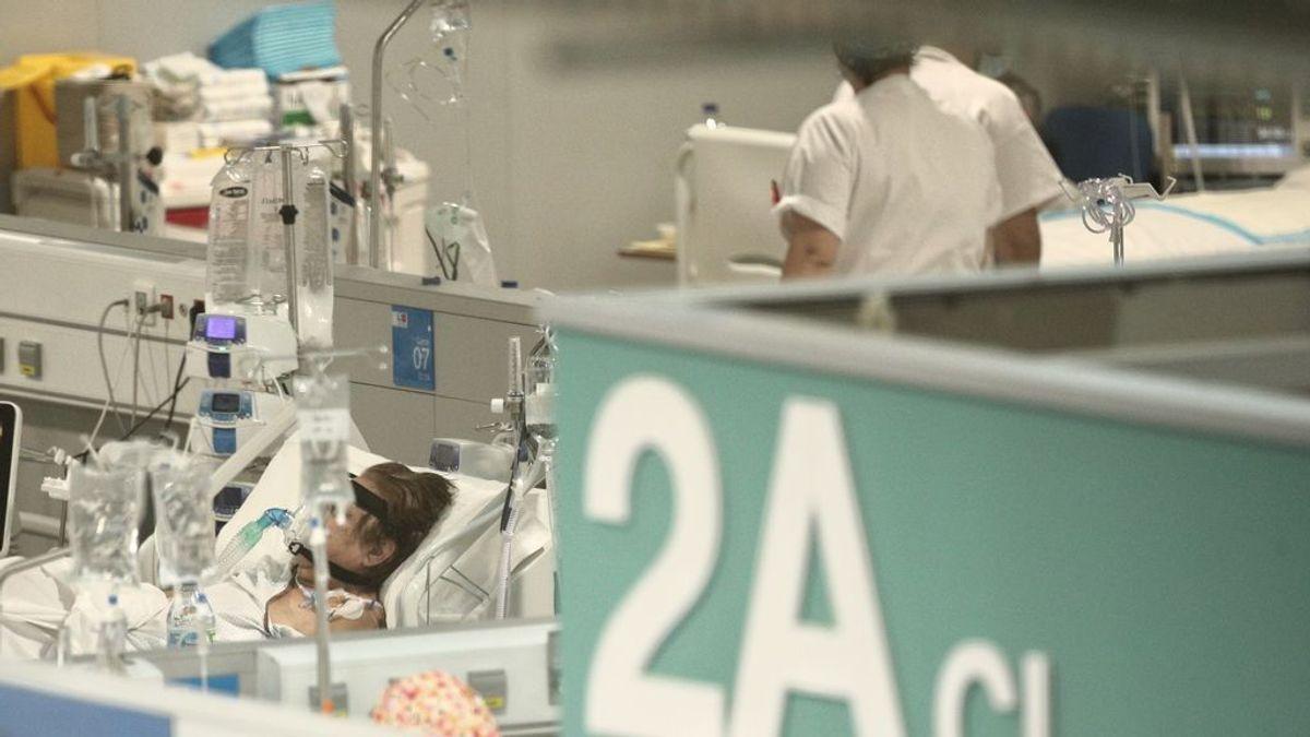 Aumenta la presión hospitalaria en Madrid, que suma 1.244 nuevos contagios y 15 muertes más