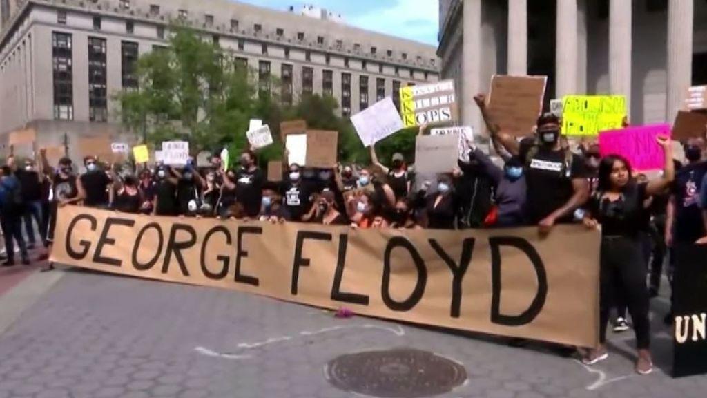 Estados Unidos aguarda expectante el veredicto por la muerte de George Floyd