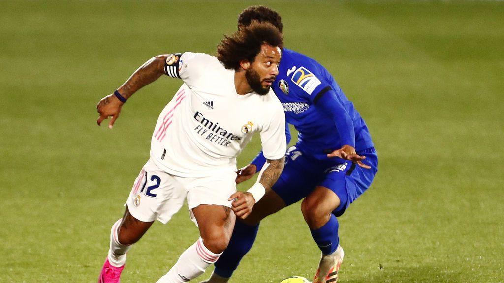 """Marcelo y Odriozona, de nuevo señalados por la afición tras el empate en Getafe: """"Deben salir del club este mismo verano"""""""