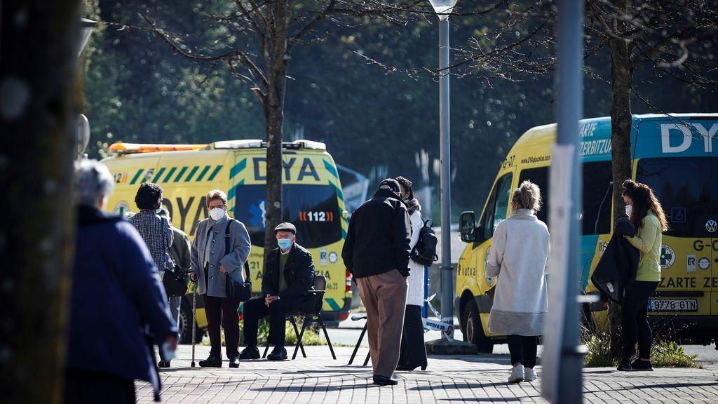 El virus avanza sin control en País Vasco y ya se derivan pacientes de unas provincias a otras