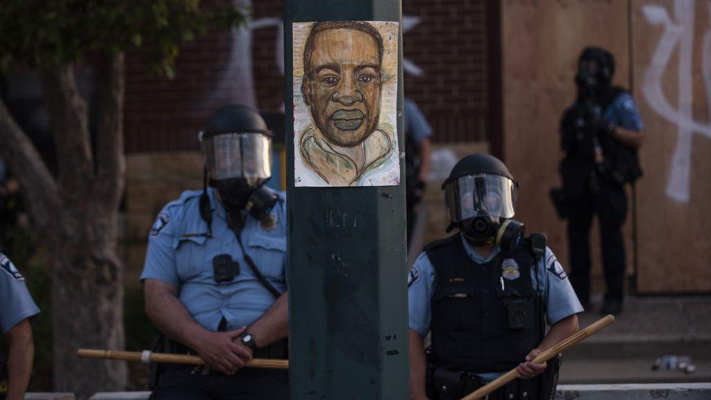 La policía toma Mineápolis en la recta final del juicio por la muerte de George Floyd