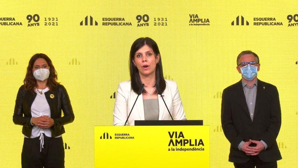 ERC lanza un ultimátum a Junts para cerrar un acuerdo por la investidura de Aragonès el 1 de mayo como máximo