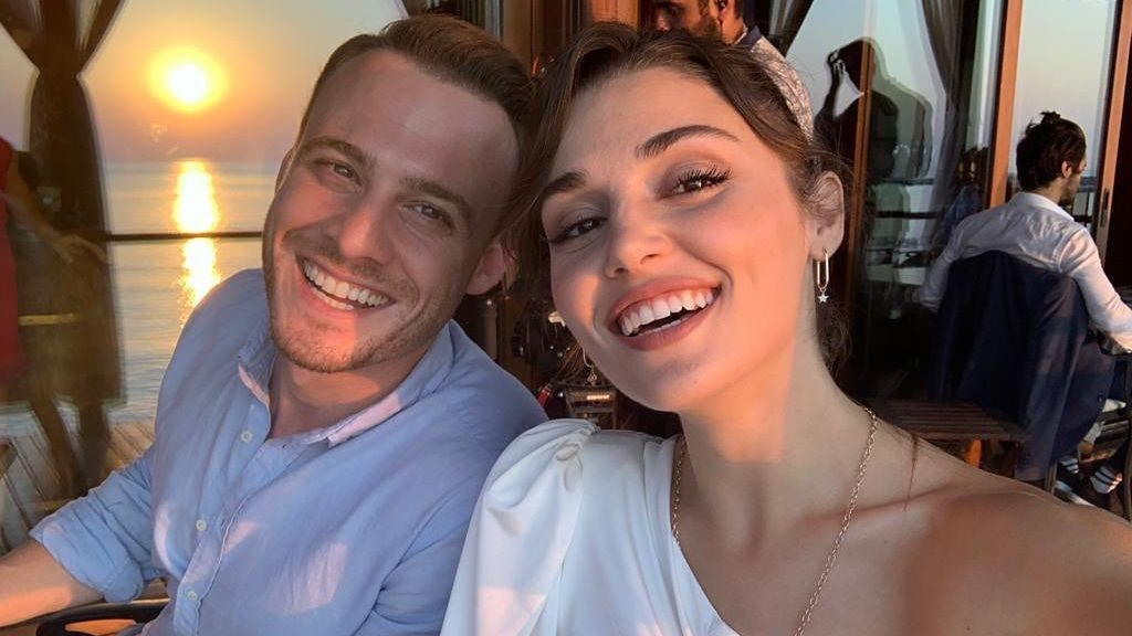 Hande Erçel y Kerem Bürsin, pillados en Maldivas
