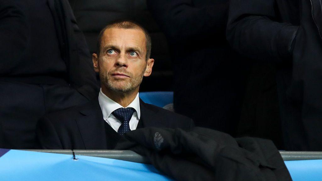 """La UEFA amenaza a los jugadores que jueguen la Superliga: """"no podrán representar a sus selecciones"""""""