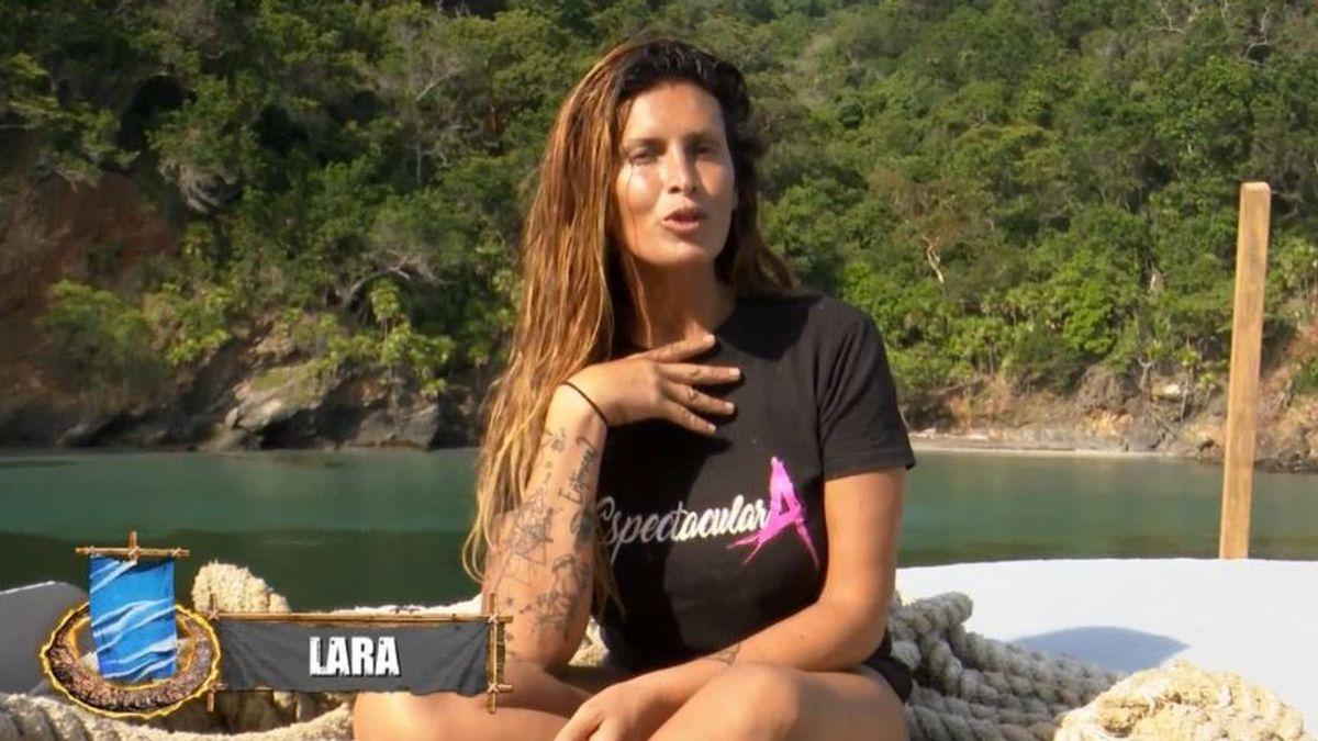 """Lara Sajen encuentra el amor en El Barco Encallado: """"El pirata Morgan es mi marido"""""""