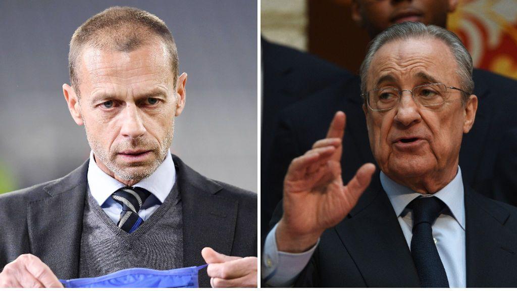 La UEFA, reunida con su equipo de abogados para intentar expulsar al Real Madrid de la actual Champions