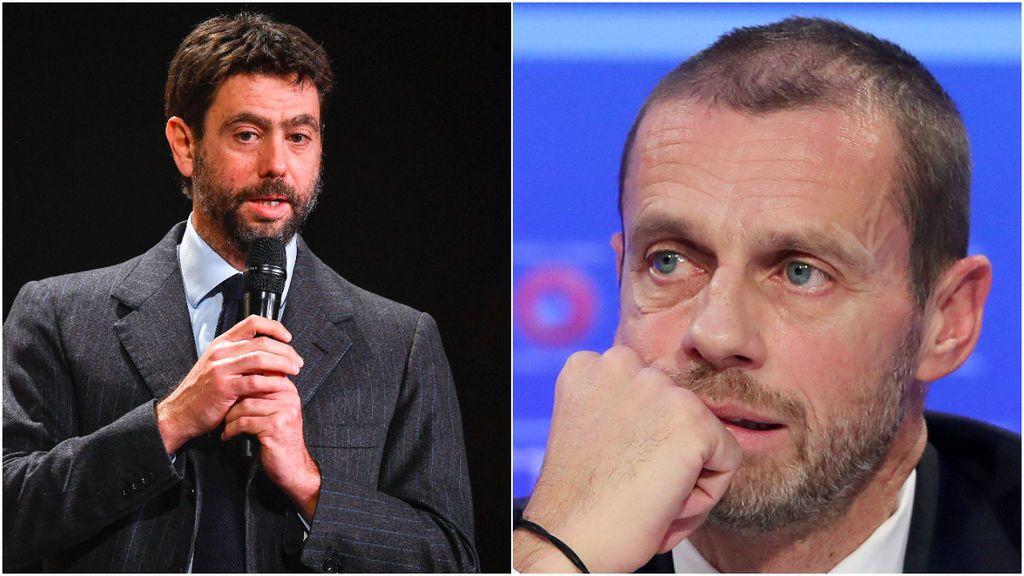 """La Superliga también terminan con la gran amistad entre Caferin y Agnelli: """"Es la mayor decepción de mi vida"""""""