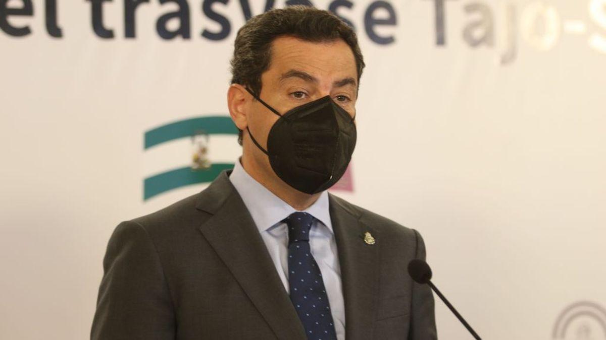 Andalucía pide una reunión al gobierno para proponer que permitan la movilidad por el territorio de los ya vacunados