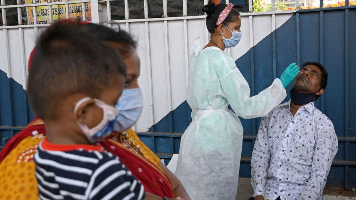 India supera los 15 millones de casos de coronavirus con un nuevo máximo de cerca de 274.000 contagios