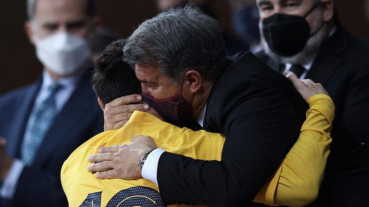 Messi, más cerca de quedarse: se compra otra casa en Barcelona y recupera la sonrisa con Laporta