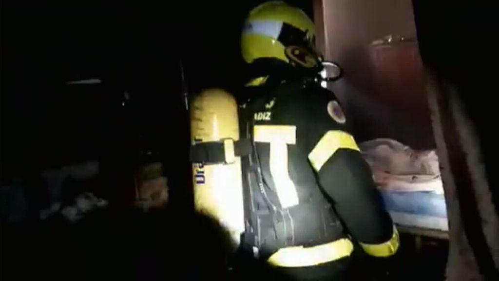 Muere un niño y su abuela resulta herida en el incendio de una casa en El Puerto de Santamaría