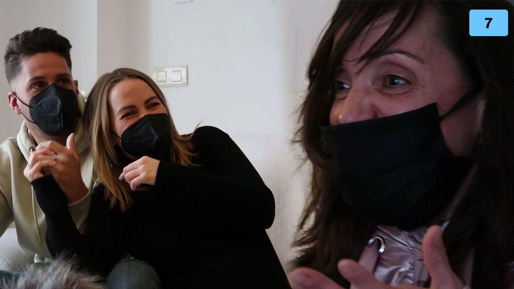 Yoli viaja a Albacete por sorpresa y se reencuentra con su familia después de meses (2/2)