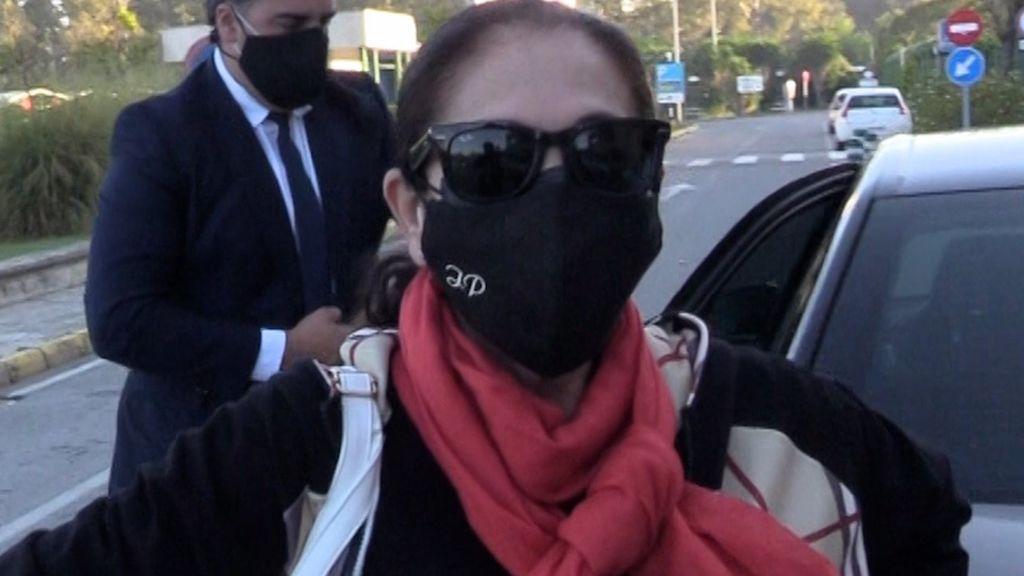 Isabel Pantoja reaparece ante las cámaras tras siete meses de encierro voluntario