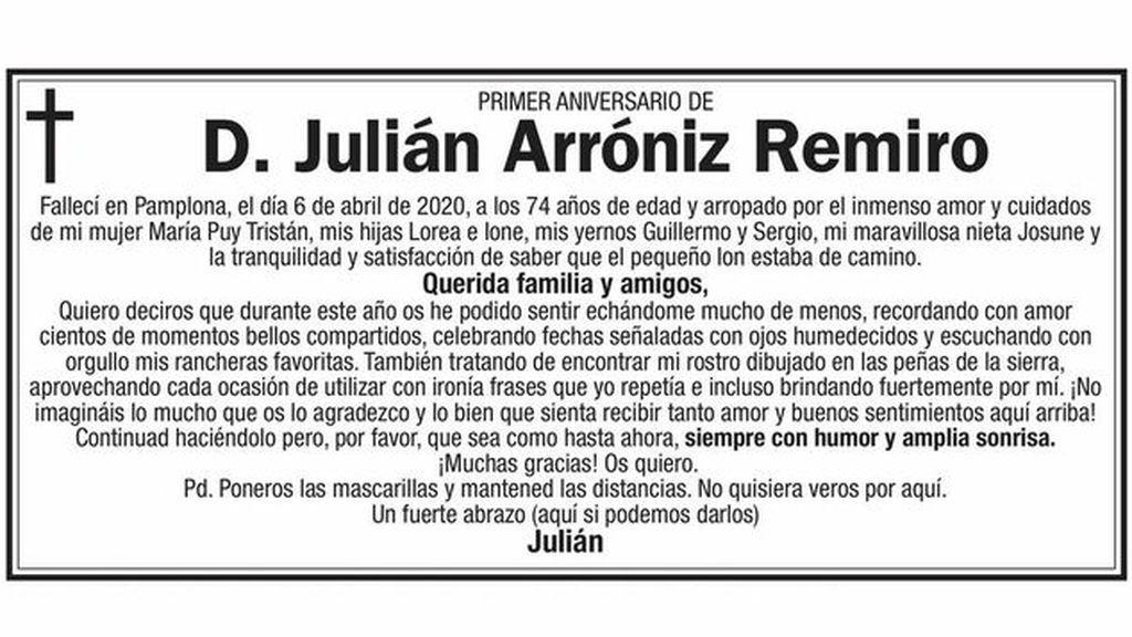 julian arroniz