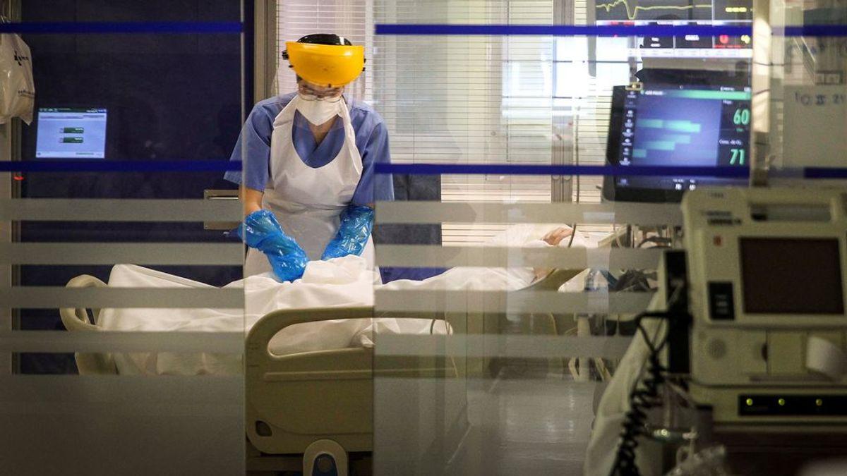 Siguen aumentando los hospitalizados por covid en España