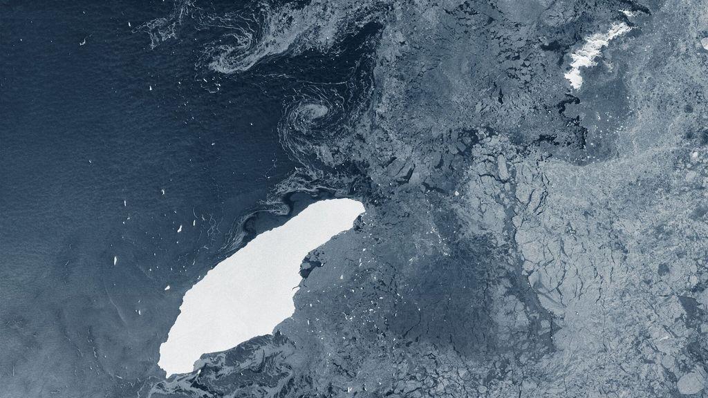 El iceberg más grande del mundo se está derritiendo por completo