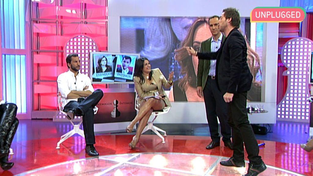 Aída Nízar y Antonio David Flores en 'Enemigos íntimos' (2010)