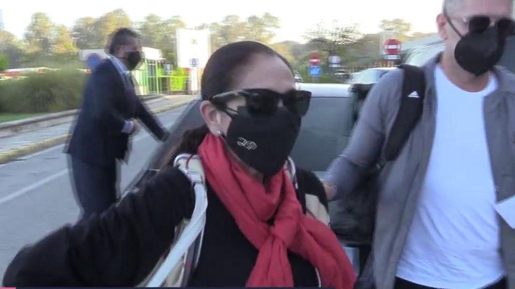 Isabel Pantoja reaparece tras su guerra con Kiko Rivera