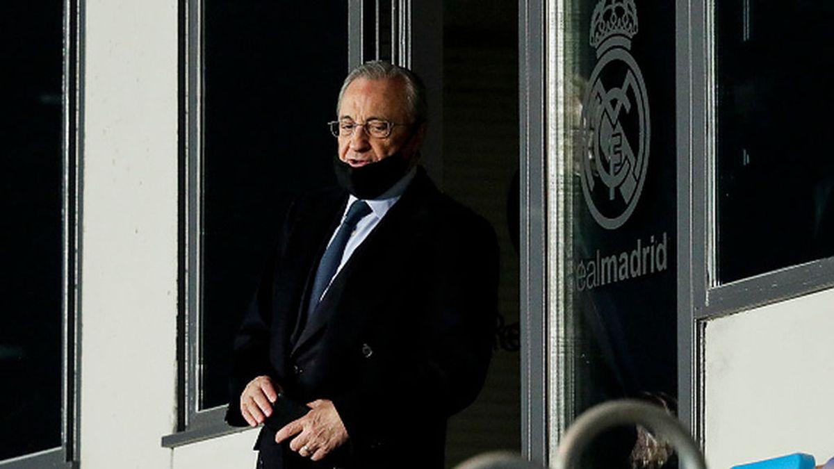 """Florentino Pérez: """"La Superliga es por el bien del fútbol, para salvarlo en un momento crítico y es solidaria"""""""