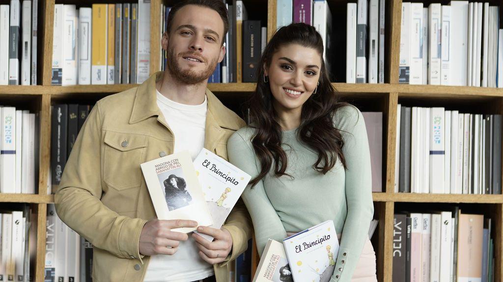 Este martes, celebra el 'Día del libro' en Telecinco con el doble estreno de 'Love is in the air'