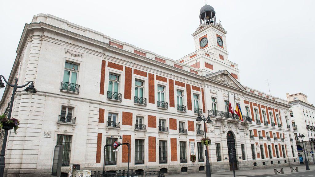 Imagen de la Real Cada de Correos, sede de la Presidencia de Madrid