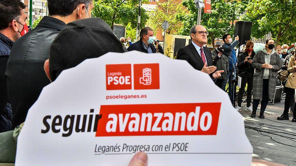 Abanico de propaganda electoral del PSOE