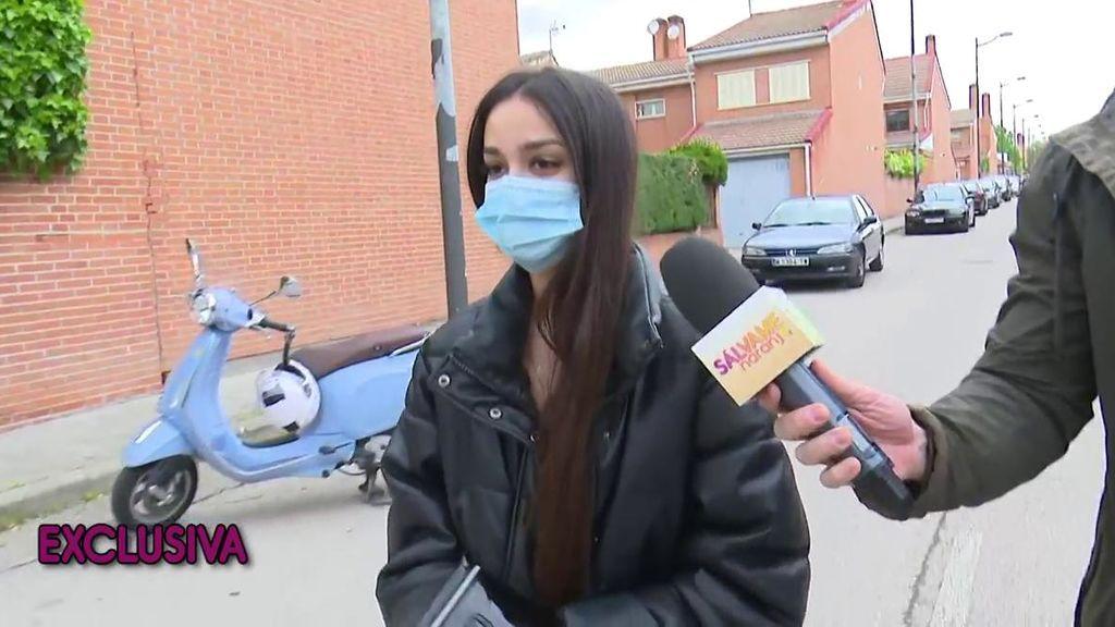 """Del tímido """"gracias"""" de Julia Janeiro a su charla fuera de cámaras con Omar Suárez: """"Es una niña tímida y muy educada"""""""
