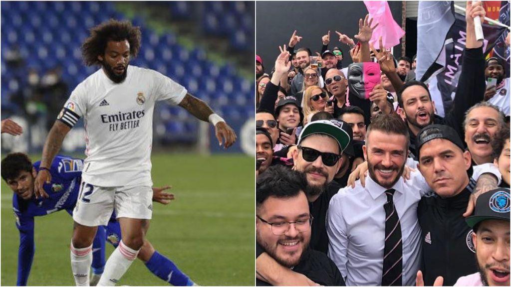 """Varios jugadores del Real Madrid dan 'me gusta' a una publicación de Beckham en contra de la Superliga: """"Nuestro deporte no es nada sin la afición"""""""