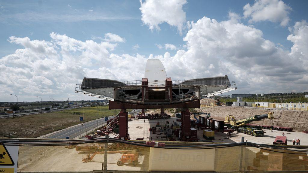 El Puente de la Concordia, la nueva puerta de entrada a Madrid desde el aeropuerto