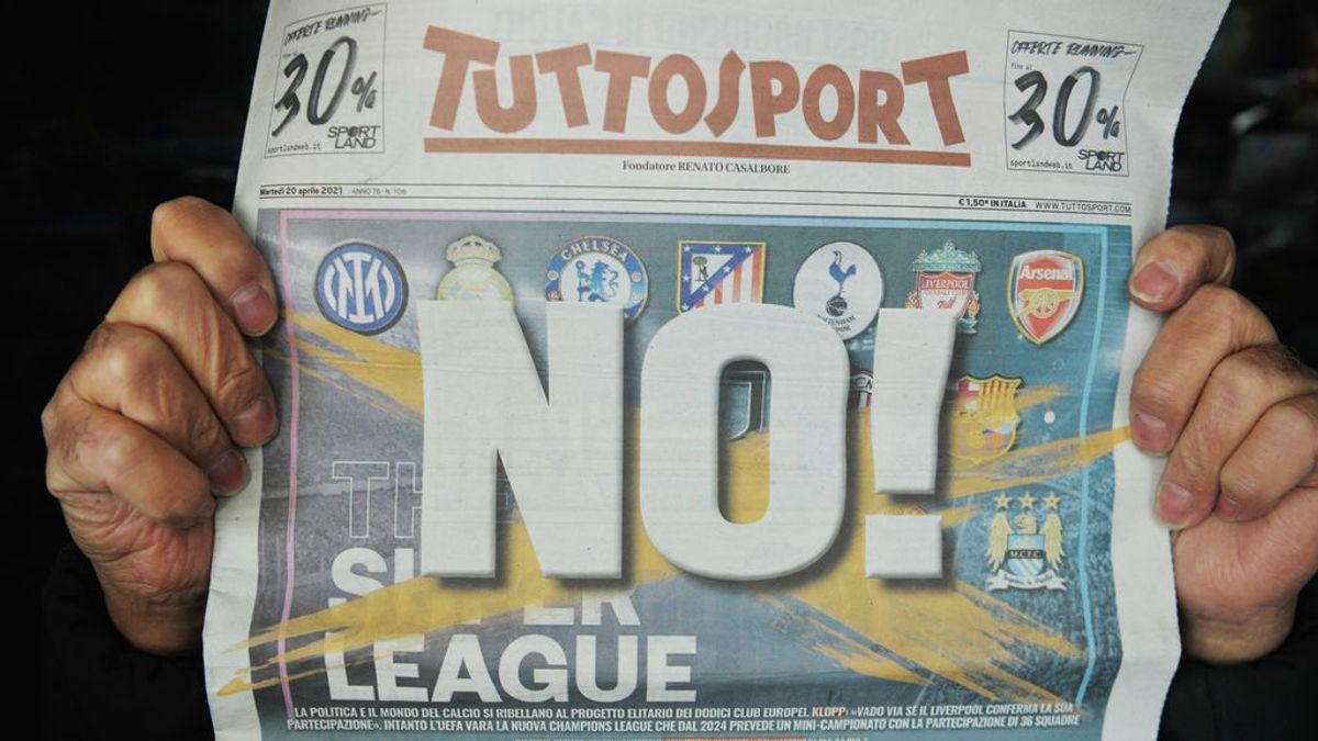 Los equipos italianos también causan baja en la Superliga