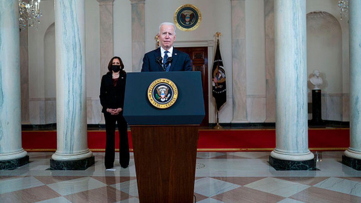 Biden cumple 100 días en el cargo con la aprobación de 6 de cada 10 estadounidenses
