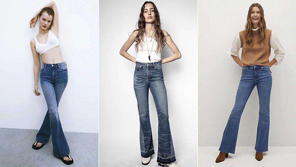 Pantalones de Zara, Zadig & Voltaire y Mango