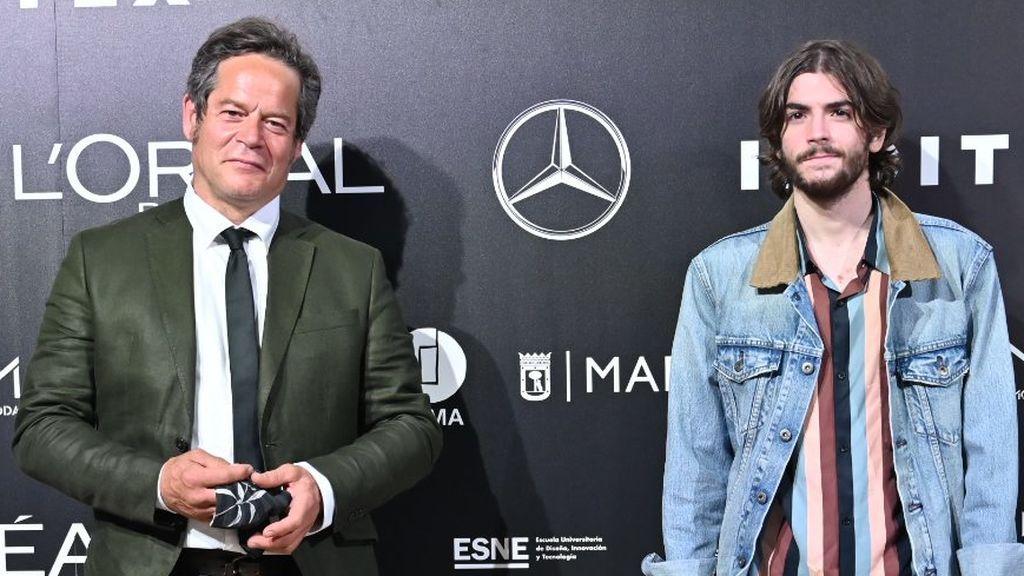 Jorge Sanz desvela la complicadísima profesión de su hijo Merlín, que tiene fibrosis quística