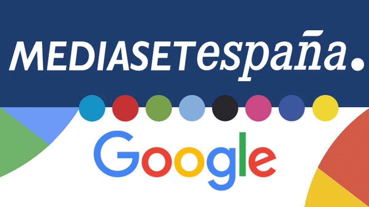 Mediaset España y Google firman un acuerdo para afrontar con garantía los nuevos retos del sector audiovisual